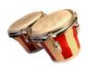 Leinwanddruck Bild - bongos