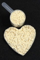 PROTEIN POWDER POWER HEART