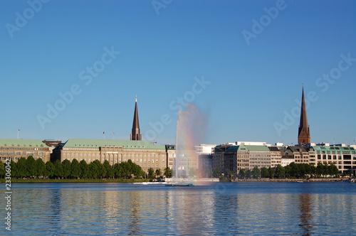 alster springbrunnen / Hamburg - 23306042
