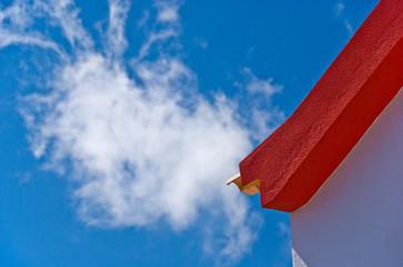 Madeira Rot-weiß-blau-Dach