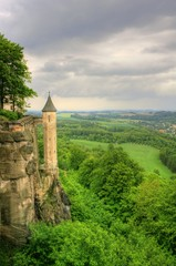 Elbsandsteingebirge - Festung Königstein