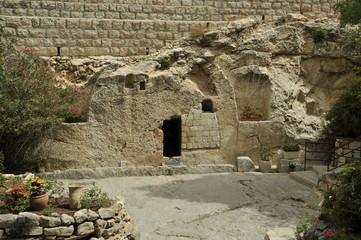 Place of ressurection of Jesus Christ in Israel Jerusalem