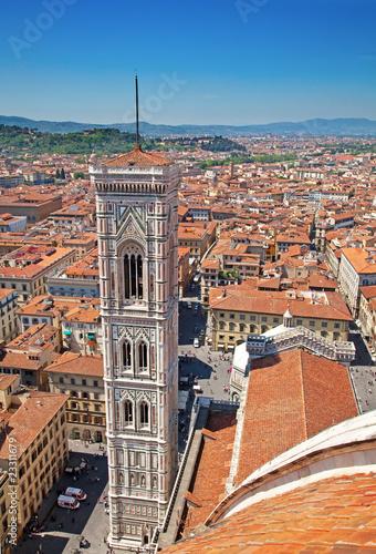 Papiers peints Orange eclat Florence, Italy