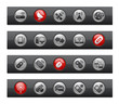 Wireless & Communications // Button Bar Series