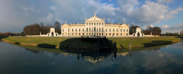 Venetian mansion along a river