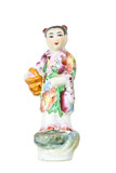 Chinese ceramic figure (isolated)