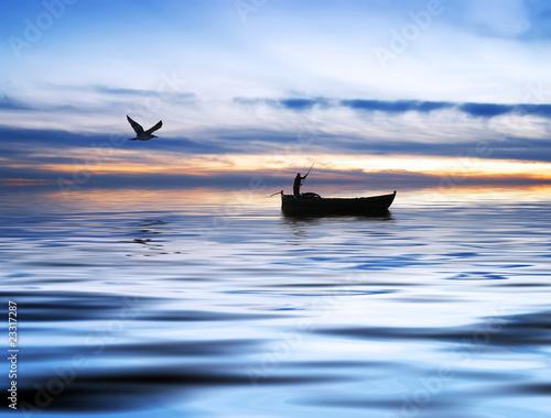 połowów na morzu