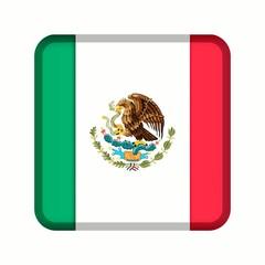 animation bouton drapeau mexique