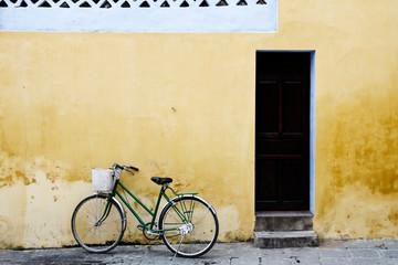 Haus und Fahrrad in Vietnam
