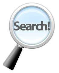 "Magnifying Glass Icon ""Search!"""