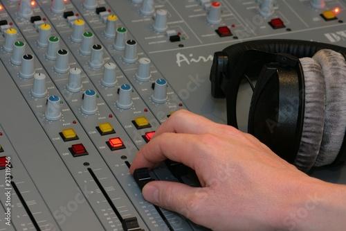 Radiostudiomischpult