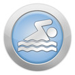 "Light Colored Icon ""Swimming"""