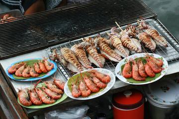 Sea Food at Floating Market