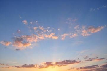Sonnenuntergang am Bertzdorfer See 2