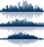 Fototapety Abstract city