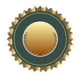 gold medallion poster