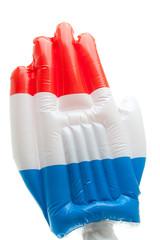 Big Dutch blown up hand