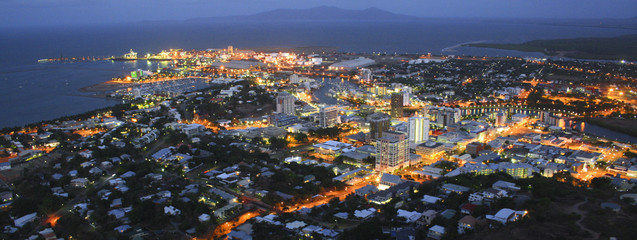 Townsville Aerial Night