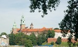 historical Wawel Castle in Cracow poster