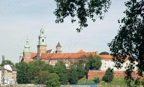 poster of historical Wawel Castle in Cracow