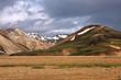 Iceland - Landmannalaugar picturesque mountains
