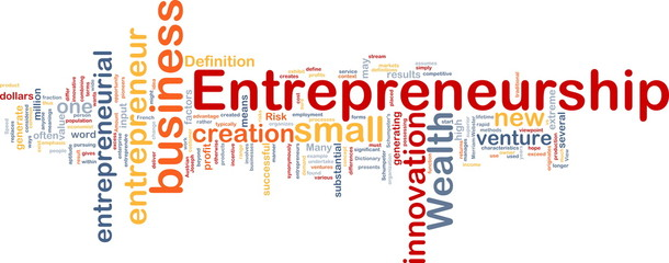 Business entrepreneurship background concept