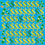 Money in Motion (kinetic optical illusion) poster