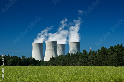Nuclear power station - 23349883