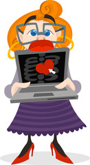 Online Dating Lady
