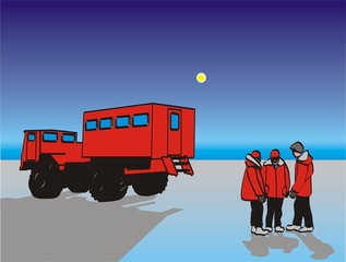antarctic travelers