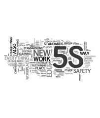 5S management methodology - Total Quality Control