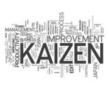 Kaizen - change for the better poster