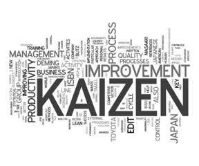 Kaizen - change for the better