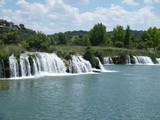 Fototapety cascadas en las lagunas de ruidera
