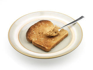 Peanut Butter on Toast