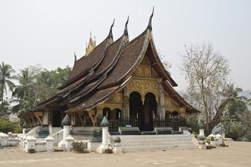Vat in Luang Prabang,Laos,Asien