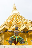 Demon which support the golden Chedi poster