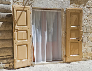 Typical house. Molfetta. Apulia.