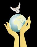 Cherish the peace poster