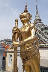 Panora-Paksa, the thai creature, a bird with monkey head