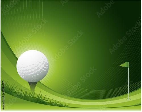 Fototapeta Golf background