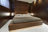 Italy, luxury yacht Tecnomar 36 (36 meters), Guests bedroom poster