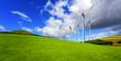 Wind turbines panorama