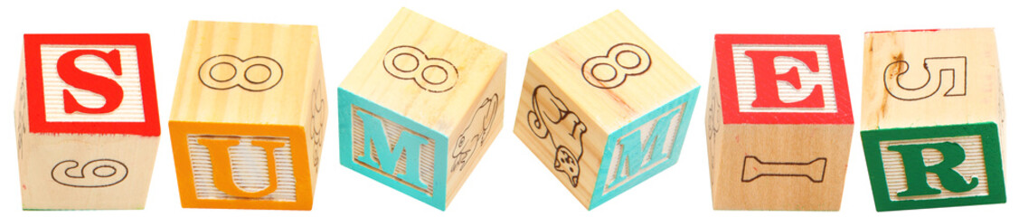Alphabet Blocks Summer