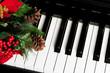 Leinwanddruck Bild - Piano Key