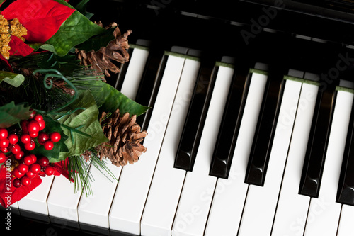 Leinwanddruck Bild Piano Key