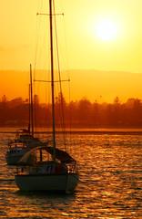 Yachts In The Sun
