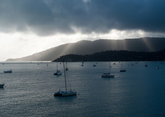 Boats at Whitsunday