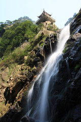 lushan waterfall