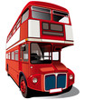 Red double-decker bus - 23383241